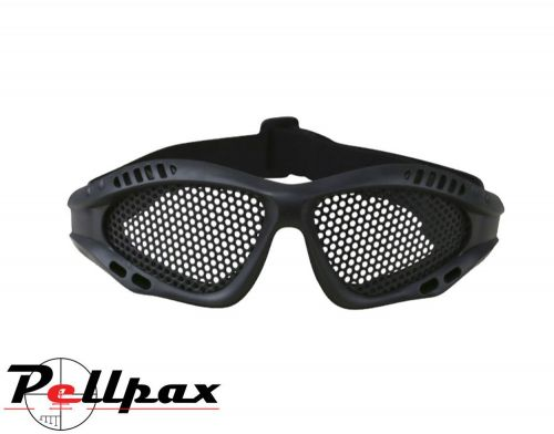 Kombat UK Tactical Protective Mesh Glasses: Black / Coyote / Olive Green