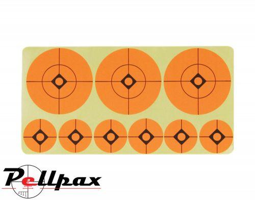 """Target Stickers 1""""/2""""Diameter By Jack Pyke"""