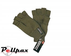 Thinsulate Fingerless Gloves by Bisley