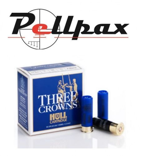 Hull Cartridge Three Crowns 26g 6 Shot - 16G