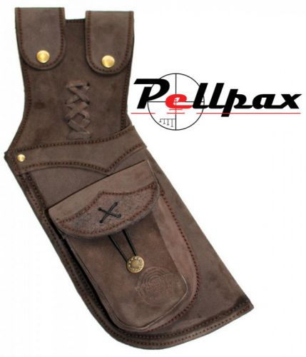 Timber Creek Leather Hip Quiver - Brown