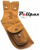 Timber Creek Leather Hip Quiver - Tan