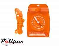 Ultimate Survival Compass & Thermometer Combo with Lanyard