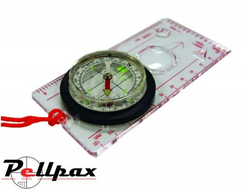 Ultimate Survival Deluxe Map Compass for Survival, Hiking, Walking