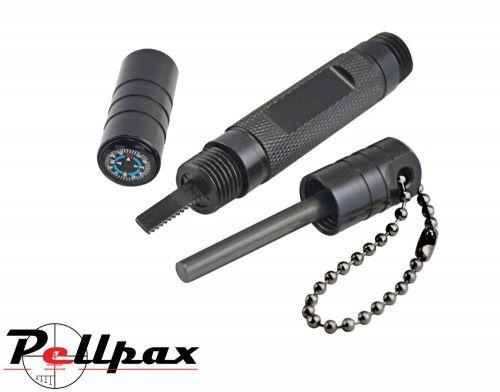 Ultimate Survival SparkMax 1.0 Black Flint Striker Fire Starter