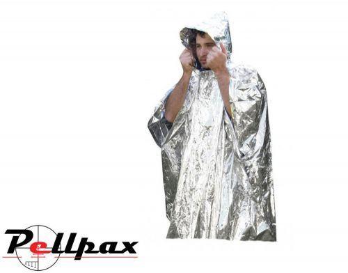 Ultimate Survival Emergency Reflective Waterproof Rain Poncho