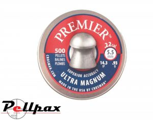Crosman Premier Domed .22 (5.5mm) Pellets x 500