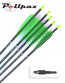 Ultrafast Carbon Arrows - Pack of 5