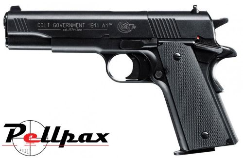 Umarex Colt 1911 A1 Government Black - .177 Pellet