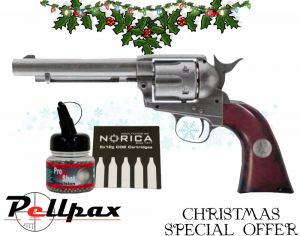 Umarex Colt Peacemaker Marshal's Edition + FREE CO2 & BBs - 4.5mm BB