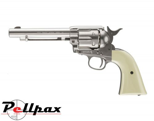 Umarex Colt Peacemaker Nickel - 4.5mm BB Air Pistol