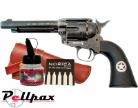 Umarex Colt Peacemaker Ranger + FREE Holster CO2 & BBs - 4.5mm BB Air Pistol