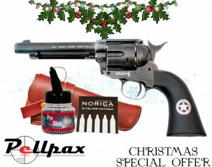 Umarex Colt Peacemaker Ranger + FREE Holster CO2 & BBs - 4.5mm BB Air Pistol