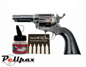 "Umarex Colt Peacemaker SAA 3.5"" Custom Shop + FREE CO2 & BBs - 4.5mm BB Air Pistol"