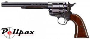 """Umarex Colt Peacemaker SAA 45 7.5"""" Blued - .177 Pellet"""