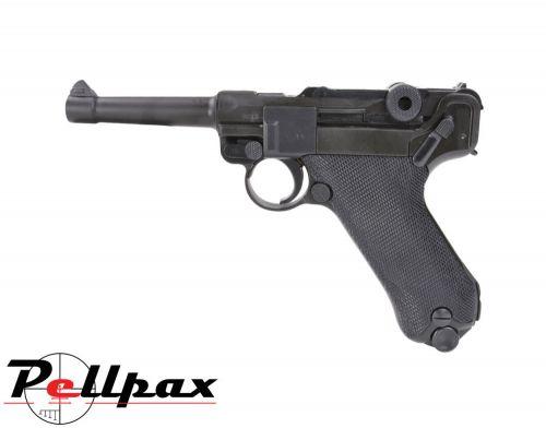 Umarex Walther Legends P08 FM Luger Blowback 4.5mm BB CO2 Pistol - Second Hand