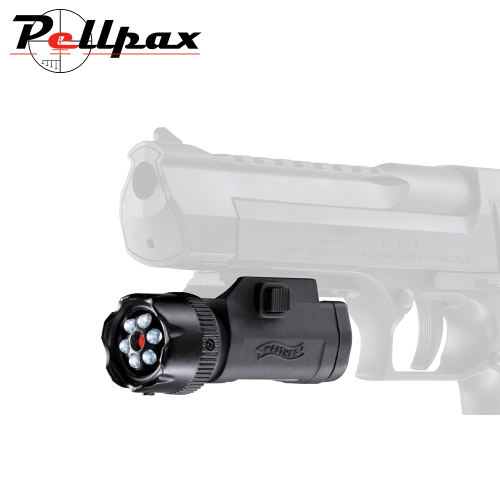 Walther FLR 650 Red Laser Sight with LED Torch