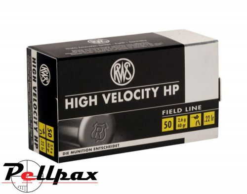 RWS High Velocity HP - .22LR