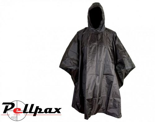 US Army Waterproof Military Poncho :  Black / DPM / Olive Green / BTP