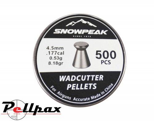 Snowpeak Wadcutter .177 Pellets x 500