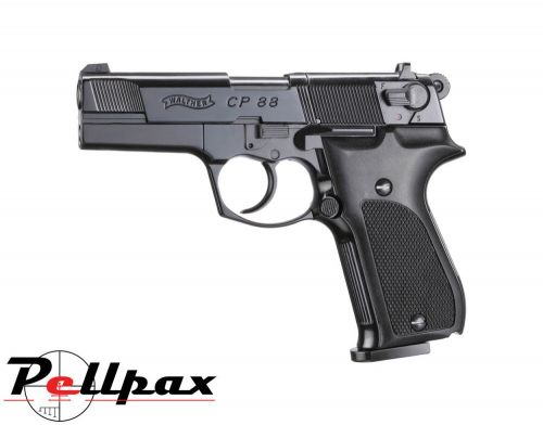 "Walther CP88 4"" Black - .177 Pellet Air Pistol"
