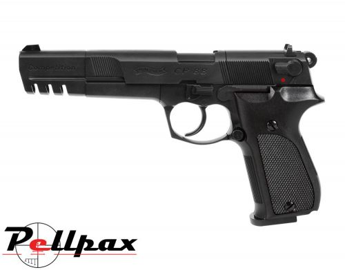 "Walther CP88 6"" Black Competition - .177 Pellet Air Pistol"