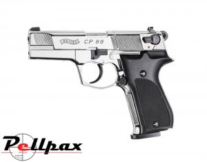 Walther CP88 Polished Chrome - .177 Pellet Air Pistol