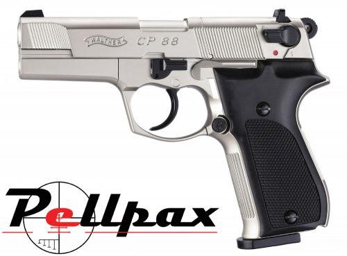 """Walther CP88 4"""" Nickel - .177 Pellet"""