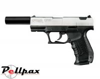 Walther CP99 Bicolor with Silencer - .177 Pellet Air Pistol