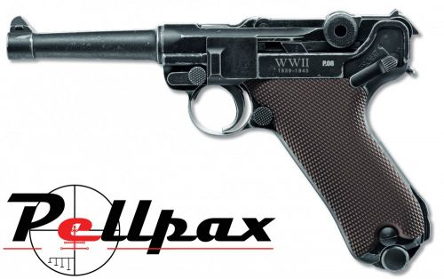 Walther Legends P08 Luger 'End of WWII' - 4.5mm