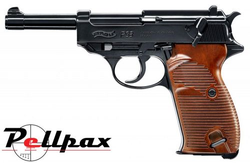 Walther P38 Black - 4.5mm BB