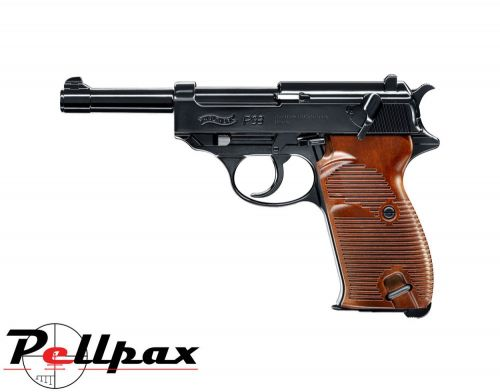 Walther P38 Black - 4.5mm BB Air Pistol