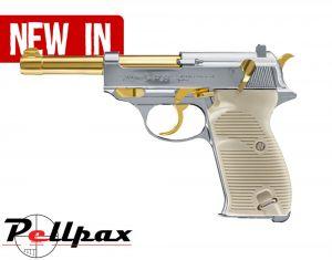 Walther P38 Golden Boy - 4.5mm BB Air Pistol - New 2018!