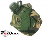 Kombat UK Military Tactical Water Bottle with Pouch