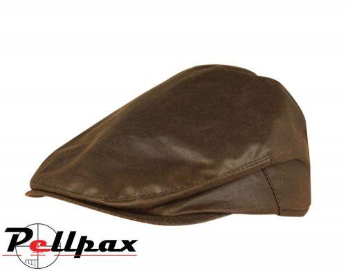 Wax Flat Cap By Jack Pyke in Brown