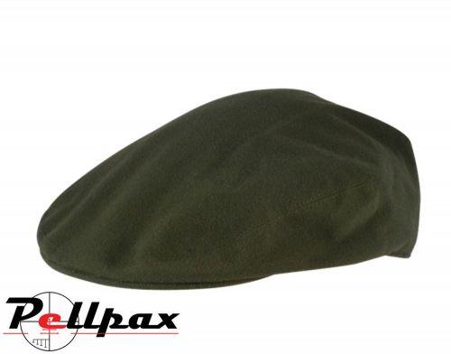 Wax Flat Cap By Jack Pyke in Green