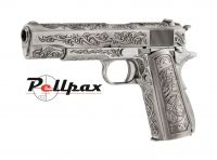 WE 1911 Chrome Etched Special Edition 6mm Airsoft