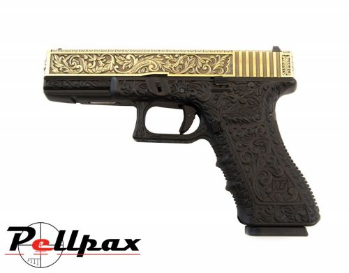 WE EU17 Etched Special Edition - Gas 6mm Airsoft