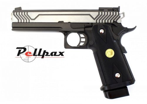 WE Hi-Cappa 5.1 M1-Version Black Co2 6mm Airsoft