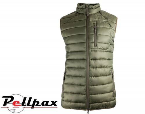 Weardale Quilted Gilet By Jack Pyke in Green