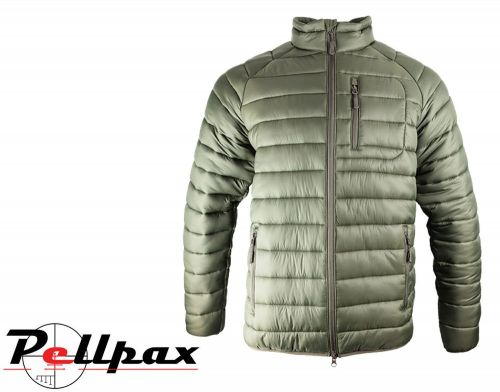Weardale Quilted Jacket By Jack Pyke in Green