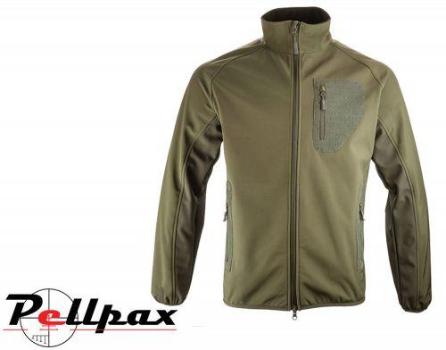 Weardale Softshell Jacket By Jack Pyke in Green