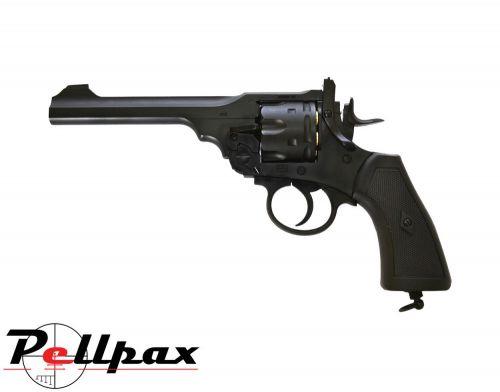 Webley MKVI Service Revolver - .177 Pellet Air Pistol
