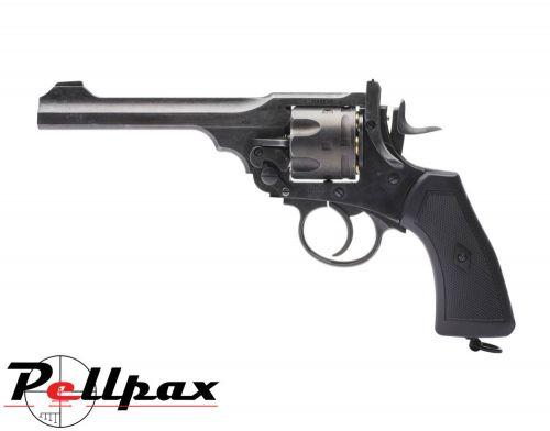 Webley MKVI Service Revolver Battlefield Finish - .177 Pellet Air Pistol