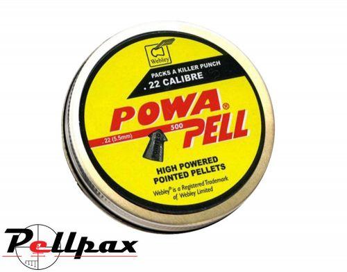 Webley Powapell .22 Pellets x 500