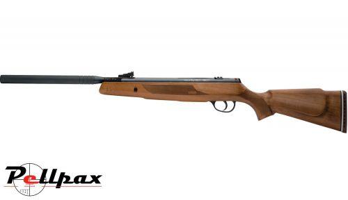 Webley VMX Quantum OS .177 Pellet Spring Rifle + Bag + Scope (4 x 32) - Second Hand