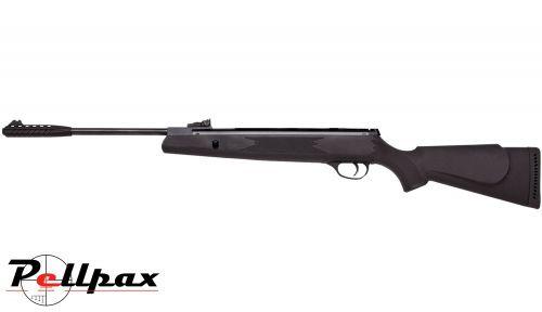 Webley VMX D-Ram Air Rifle .22 - Black Synthetic
