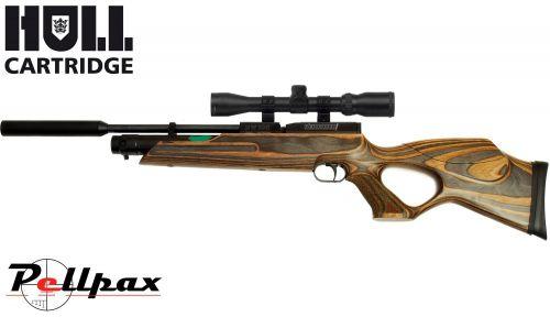 Weihrauch HW100 KT Laminate + Hard Case - .22 Air Rifle - Second Hand