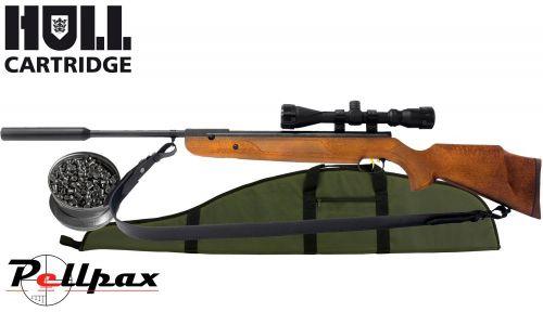 Weihrauch HW95K Hunting Combo - .22 Air Rifle