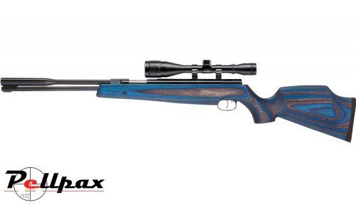 Weihrauch HW97K Blue-Grey Laminate Air Rifle .22